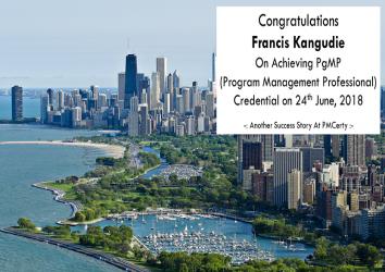 Congratulations Francis on Achieving PgMP..!