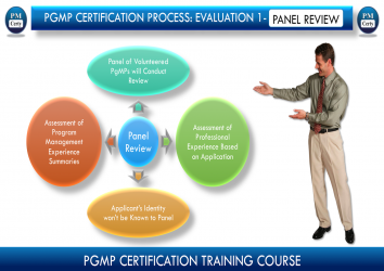 Panel Review - One Major Reason Why So Many PgMP Applications Fail