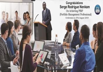 Congratulations Serge on Achieving PfMP..!