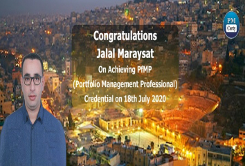Congratulations Jalal on Achieving PfMP..!