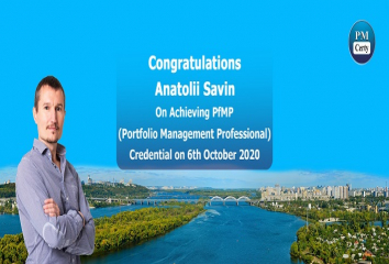 Congratulations Anatolii on Achieving PfMP..!