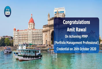 Congratulations Amit on Achieving PfMP..!